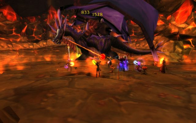 Fighting Onyxia