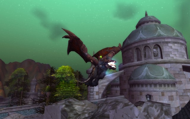 Rusted Proto-Drake over Undercity